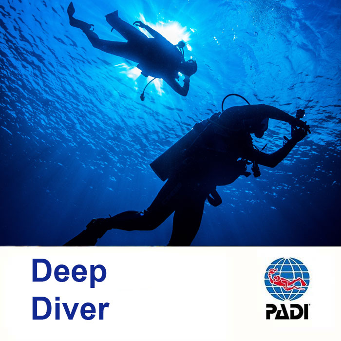 Deep Diver as part of the PADI Advance Course
