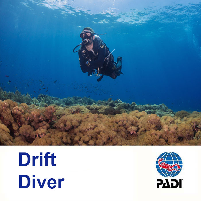 Drift Diver as part of the PADI Advance Course