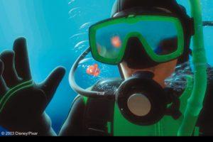 Finding Nemo Capture Scene