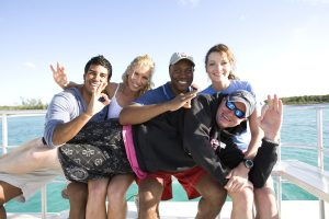 Group Having Fun on PADI Advance Course