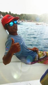 Captain Wayan, helping with Indonesian Diving