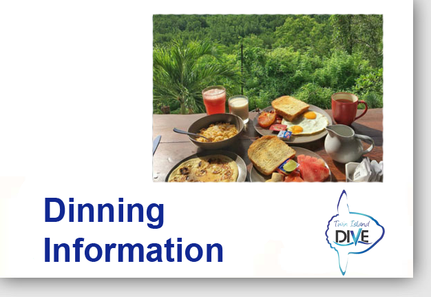 Dining in Lembongan - Lembongan Activties