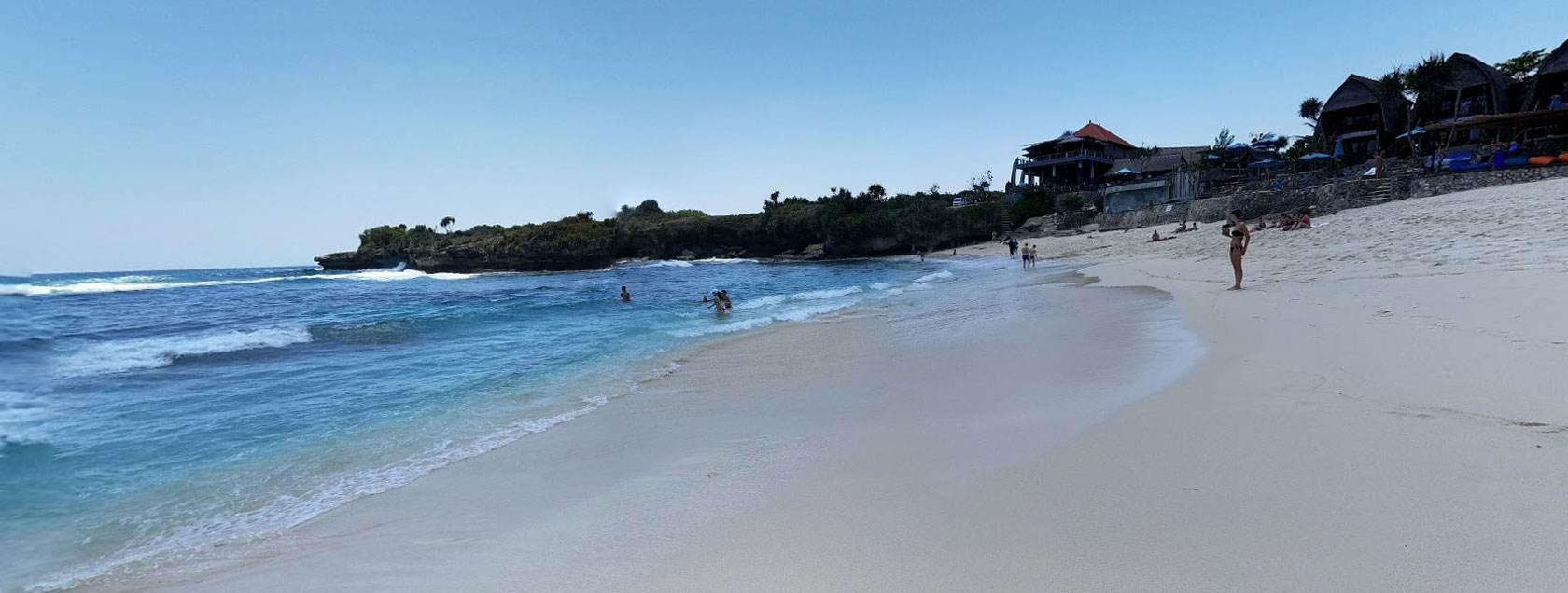 Dream Beach - Lembongan Beach