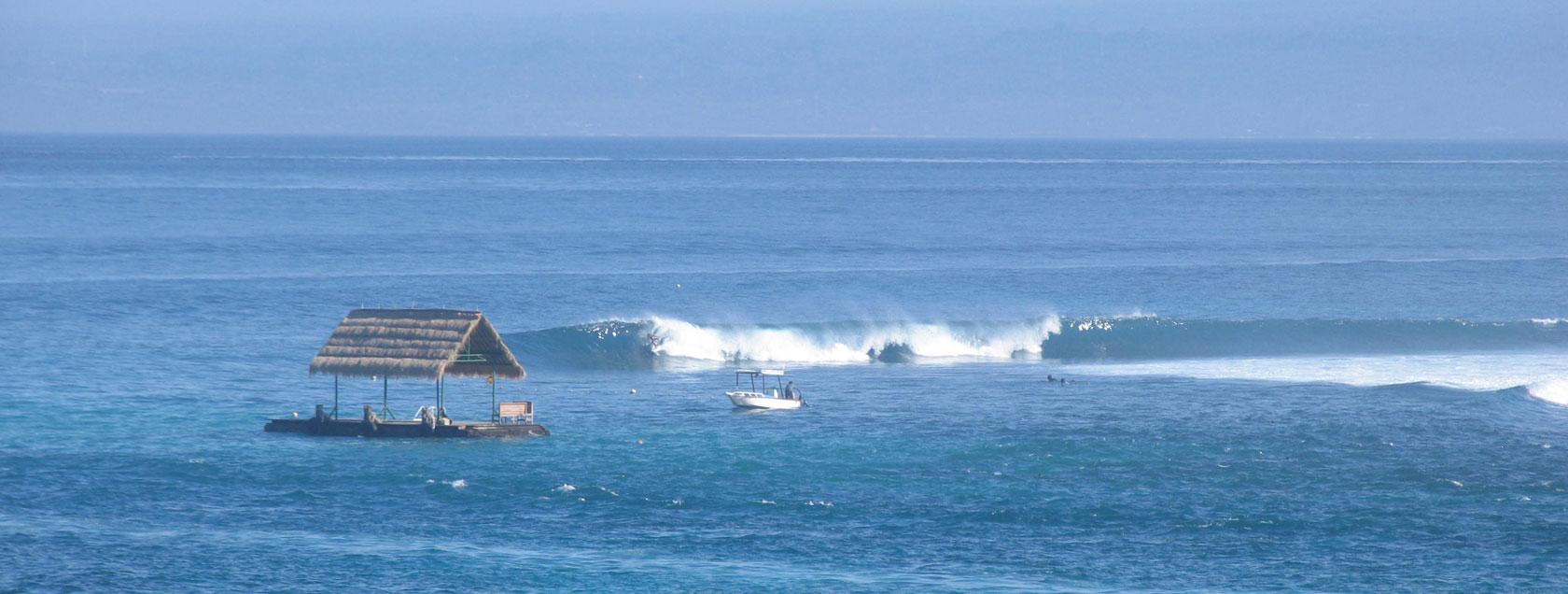 Lacerations - Surfing Lembongan