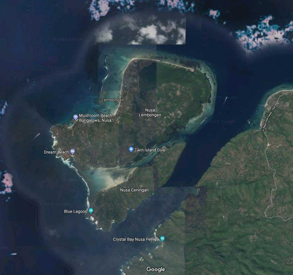 Nusa Lembongan from Google - About Lembongan