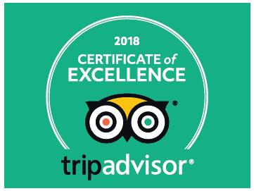 Certificate of Excellence - TripAdvisor
