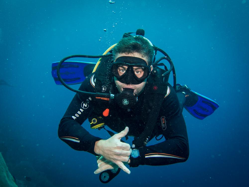 Fun Diving in Lembongan